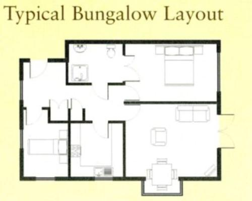 Bungalow layout joy studio design gallery best design for Typical house layout
