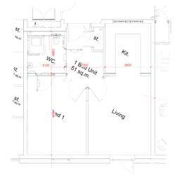 St Loyes 1bed Plan