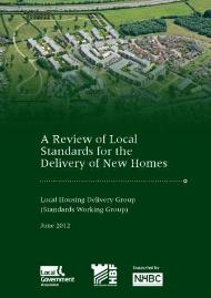 Cover - A review of local standards for the delivery of new homes