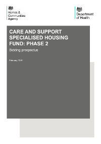 Cover Phase 2 CASSH Fund