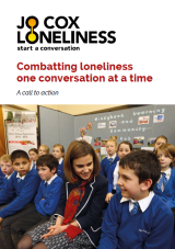 Combatting loneliness one conversation at a time cover