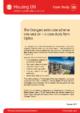 The Orangery extra care scheme one year on – a case study from Optivo
