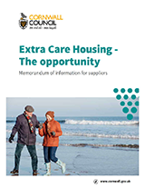 Cover Extra Care Housing - The Opportunity: Memorandum of Information