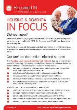 Cover Dementia Brochure