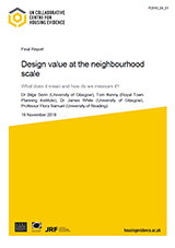 Cover Design Value at the Neighbourhood Scale