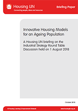 Innovative Housing Models Roundtable Cover