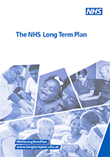 Cover NHS England Long Term Plan