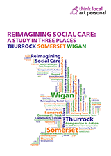 Cover Reimagining social care - a study in three places