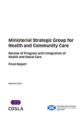 Review of Progress with Integration of Health and Social Care Cover