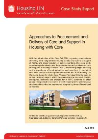 Cover - Approaches to Procurement and Delivery of Care and Support in Housing with Care