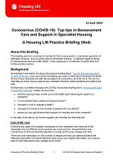 Cover Covid19 Bereavement