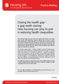 Cover HLIN Practice Briefing Health Inequalities