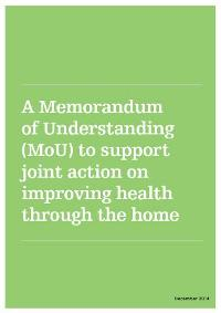 Pioneering Health and Housing Memorandum of Understanding