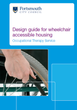 Design guide for wheelchair accessible housing cover