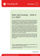 Extra Care - Topics - Resources - Housing LIN