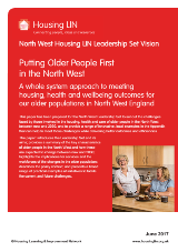Cover Putting Older People First in the North West