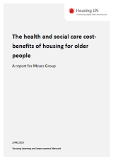 The health and social care cost benefits of housing for older people cover