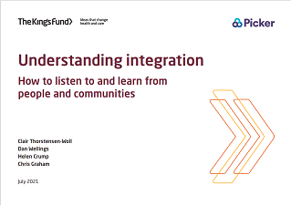 Understanding intergration how to listen and learn from people and communities cover