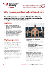 Why housing matters to health and care cover