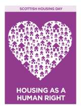 Housing as a Human Right - Scottish Housing Day cover