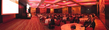 Ballroom panoramic view