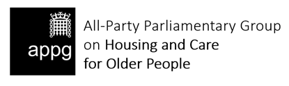 APPG Housing and Care for Older People