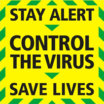 stay alert - control the virus - save lives